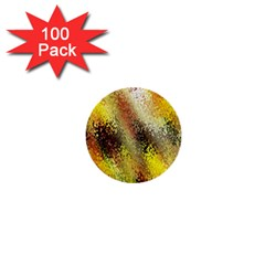 Multi Colored Seamless Abstract Background 1  Mini Buttons (100 Pack)