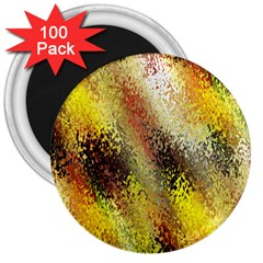 Multi Colored Seamless Abstract Background 3  Magnets (100 pack)