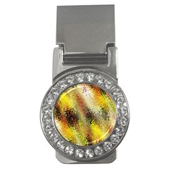 Multi Colored Seamless Abstract Background Money Clips (cz)