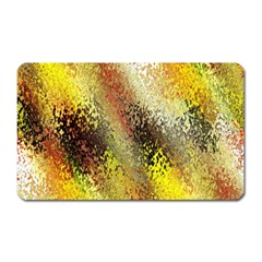 Multi Colored Seamless Abstract Background Magnet (rectangular)