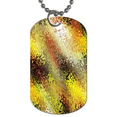 Multi Colored Seamless Abstract Background Dog Tag (Two Sides)