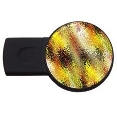 Multi Colored Seamless Abstract Background USB Flash Drive Round (2 GB)