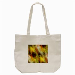 Multi Colored Seamless Abstract Background Tote Bag (Cream)
