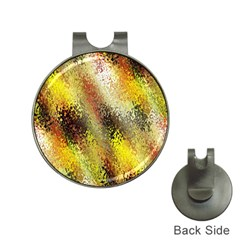 Multi Colored Seamless Abstract Background Hat Clips With Golf Markers