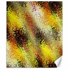 Multi Colored Seamless Abstract Background Canvas 8  X 10