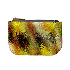 Multi Colored Seamless Abstract Background Mini Coin Purses