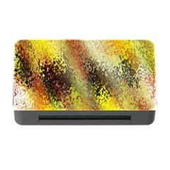 Multi Colored Seamless Abstract Background Memory Card Reader With Cf