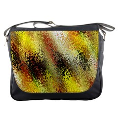 Multi Colored Seamless Abstract Background Messenger Bags