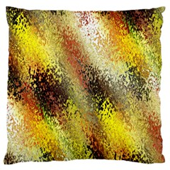 Multi Colored Seamless Abstract Background Large Cushion Case (One Side)