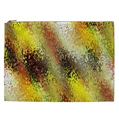 Multi Colored Seamless Abstract Background Cosmetic Bag (XXL)
