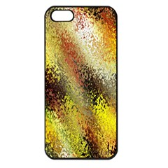 Multi Colored Seamless Abstract Background Apple Iphone 5 Seamless Case (black)