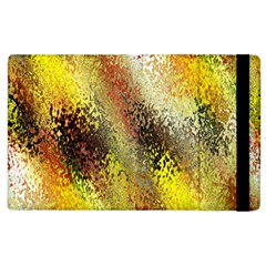 Multi Colored Seamless Abstract Background Apple iPad 2 Flip Case