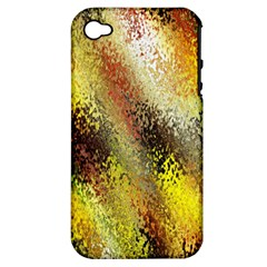 Multi Colored Seamless Abstract Background Apple iPhone 4/4S Hardshell Case (PC+Silicone)