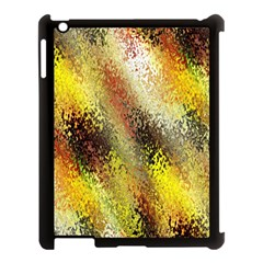 Multi Colored Seamless Abstract Background Apple iPad 3/4 Case (Black)
