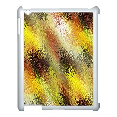 Multi Colored Seamless Abstract Background Apple iPad 3/4 Case (White)
