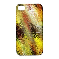Multi Colored Seamless Abstract Background Apple iPhone 4/4S Hardshell Case with Stand