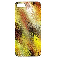 Multi Colored Seamless Abstract Background Apple iPhone 5 Hardshell Case with Stand
