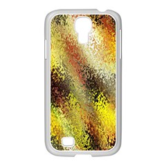 Multi Colored Seamless Abstract Background Samsung Galaxy S4 I9500/ I9505 Case (white)