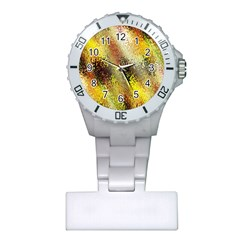 Multi Colored Seamless Abstract Background Plastic Nurses Watch