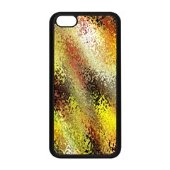 Multi Colored Seamless Abstract Background Apple iPhone 5C Seamless Case (Black)