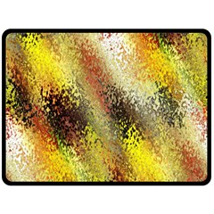 Multi Colored Seamless Abstract Background Double Sided Fleece Blanket (Large)