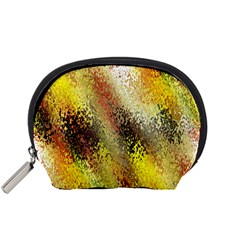 Multi Colored Seamless Abstract Background Accessory Pouches (Small)