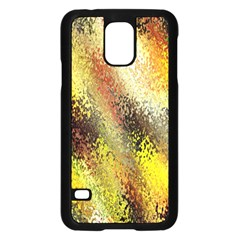 Multi Colored Seamless Abstract Background Samsung Galaxy S5 Case (Black)
