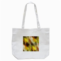 Multi Colored Seamless Abstract Background Tote Bag (White)