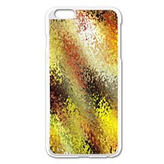 Multi Colored Seamless Abstract Background Apple iPhone 6 Plus/6S Plus Enamel White Case