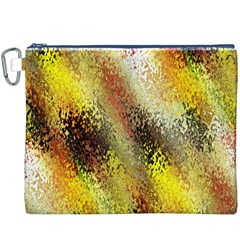 Multi Colored Seamless Abstract Background Canvas Cosmetic Bag (xxxl)
