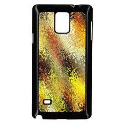 Multi Colored Seamless Abstract Background Samsung Galaxy Note 4 Case (black)