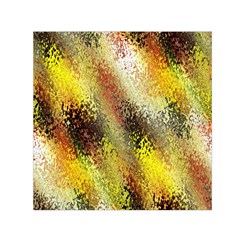 Multi Colored Seamless Abstract Background Small Satin Scarf (square)