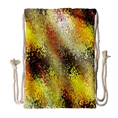 Multi Colored Seamless Abstract Background Drawstring Bag (Large)