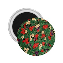 Berries And Leaves 2.25  Magnets