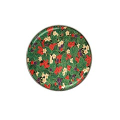 Berries And Leaves Hat Clip Ball Marker (4 Pack)