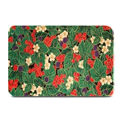 Berries And Leaves Plate Mats