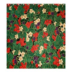 Berries And Leaves Shower Curtain 66  X 72  (large)