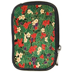 Berries And Leaves Compact Camera Cases