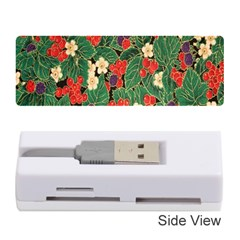 Berries And Leaves Memory Card Reader (stick)