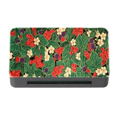 Berries And Leaves Memory Card Reader with CF