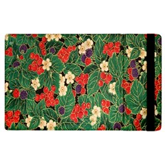 Berries And Leaves Apple iPad 3/4 Flip Case