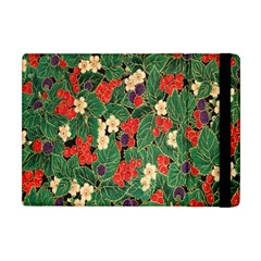 Berries And Leaves Apple iPad Mini Flip Case