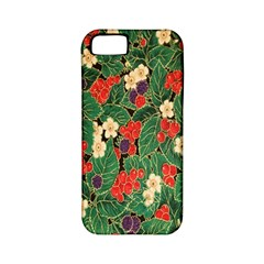 Berries And Leaves Apple iPhone 5 Classic Hardshell Case (PC+Silicone)