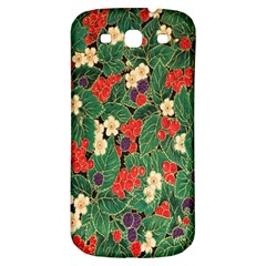 Berries And Leaves Samsung Galaxy S3 S Iii Classic Hardshell Back Case