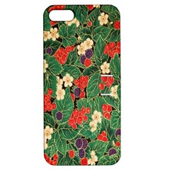 Berries And Leaves Apple iPhone 5 Hardshell Case with Stand
