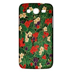 Berries And Leaves Samsung Galaxy Mega 5.8 I9152 Hardshell Case