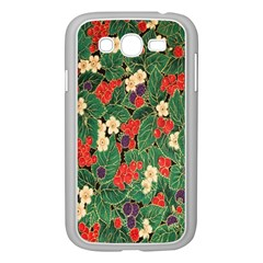 Berries And Leaves Samsung Galaxy Grand DUOS I9082 Case (White)