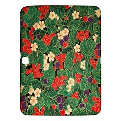 Berries And Leaves Samsung Galaxy Tab 3 (10.1 ) P5200 Hardshell Case