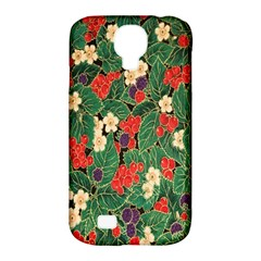 Berries And Leaves Samsung Galaxy S4 Classic Hardshell Case (pc+silicone)