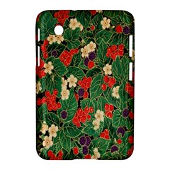 Berries And Leaves Samsung Galaxy Tab 2 (7 ) P3100 Hardshell Case